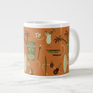 Retro Hawaiiaanse Mok van de Koffie - de Vintage