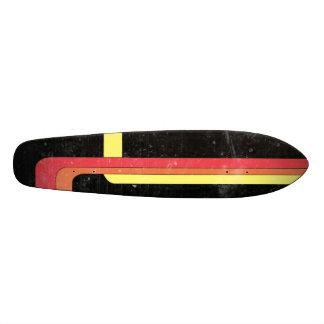 Retro het skateboardontwerp van de jaren '70stijl skateboard deck