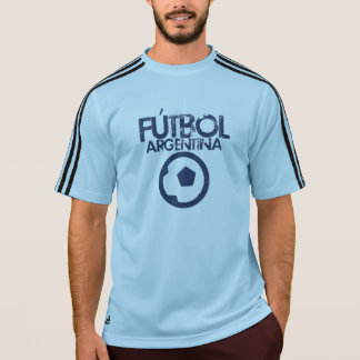 Retro het Voetbal van Argentinië T Shirt