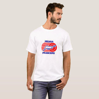 Retro Hockey T van Pacers van Peoria T Shirt