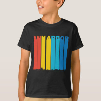 Retro Horizon van Ann Arbor Michigan T Shirt