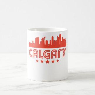 Retro Horizon van Calgary Koffiemok