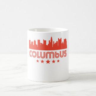 Retro Horizon van Columbus Koffiemok
