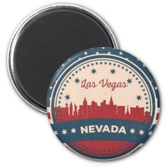 Retro Horizon van Las Vegas Magneet