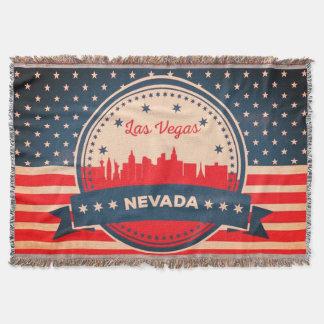 Retro Horizon van Las Vegas Nevada Deken