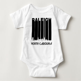 Retro Horizon van Raleigh Noord-Carolina Romper
