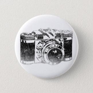 Retro jaren '50camera ronde button 5,7 cm