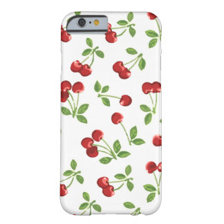 Retro Kersen Barely There iPhone 6 Hoesje
