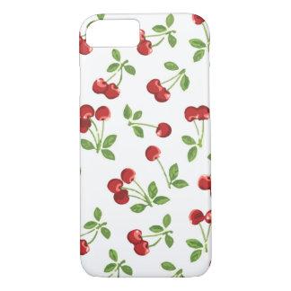 Retro Kersen iPhone 7 Hoesje