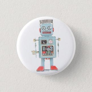 Retro Knoop van de Robot van het Speelgoed Ronde Button 3,2 Cm