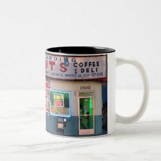 """Retro """"Kraaien die"""" Mok landen van de Koffie"""