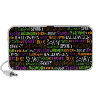 Retro Leuk Halloween iPhone Speakers