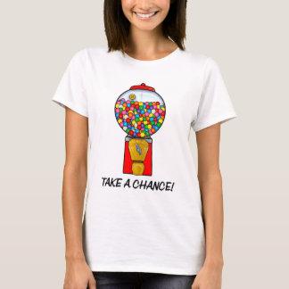 Retro Machine van de Bal van de Gom neemt een Kans T Shirt