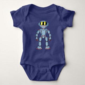 Retro overhemd van de Robot Romper