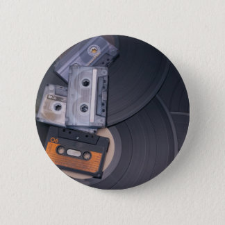 Retro Partij Ronde Button 5,7 Cm