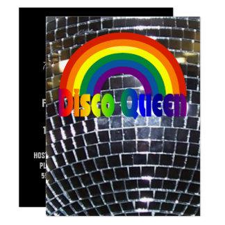 Retro Partij van de Dans van de Disco | Bal van de Kaart