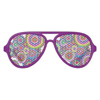 retro partijschaduwen zonnebril