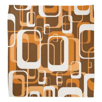 retro patroon 1971 sinaasappel bandana