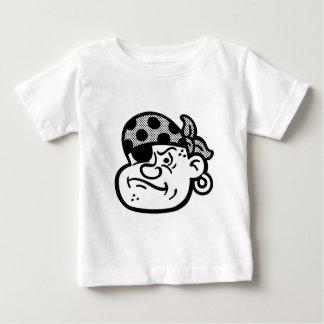 Retro Piraat Baby T Shirts