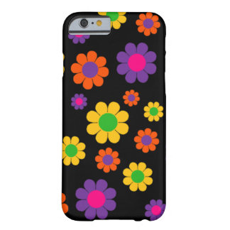 Retro Pop Flower power Barely There iPhone 6 Hoesje