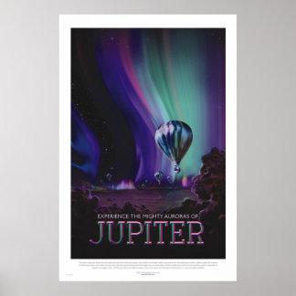 Retro Poster van de Ruimtevaart van de Stijl -
