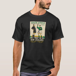 Retro Reis van het Rugby van Nieuw Zeeland SA T Shirt
