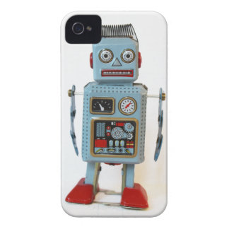 Retro Robot iPhone 4 Hoesje