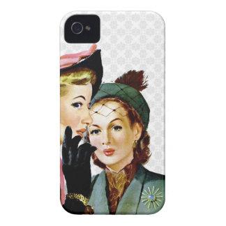Retro Roddel iPhone 4 Case-Mate Hoesjes