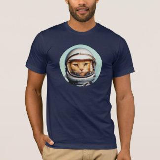 Retro RuimteKat T Shirt