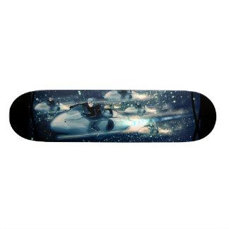 Retro Ruimtekruiser - het Ras Skate Deck