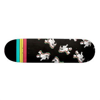 Retro Ruimtevaarder met het Dek van het Skateboard