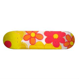 Retro Skateboard van Bloemen