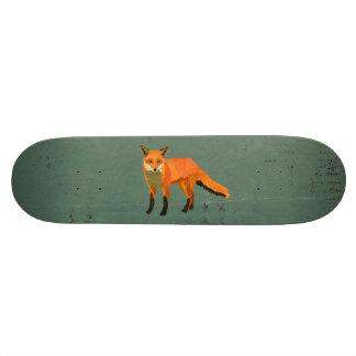 Retro Skateboard van de Vos