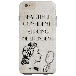 Retro Spiegel van de Vrouw Mooie, Sterke… iPhone6 Tough iPhone 6 Plus Hoesje