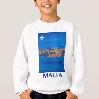 RETRO Stad van Malta Valletta van het POSTER van Trui