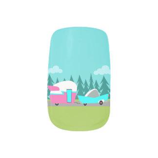 Retro Stickers van de Spijker van de Minx Nail Folie