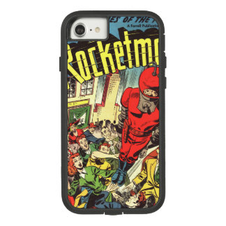 Retro strippagina - Rocketman Case-Mate Tough Extreme iPhone 8/7 Hoesje