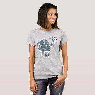 Retro T-shirt: Drink Koffie, lees Boeken, ben T Shirt
