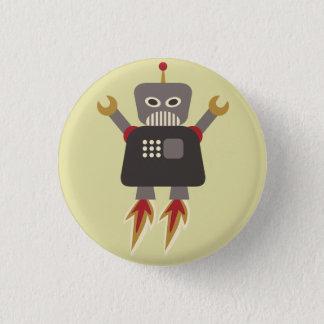 Retro Talent van de Robot van de Cartoon van de Ronde Button 3,2 Cm