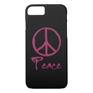 Retro Teken van de Vrede iPhone 8/7 Hoesje