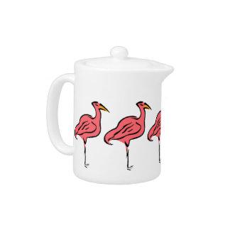 Retro Troep van de Vogels van de Flamingo van de