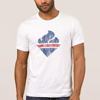 Retro (Vernietigde) Toorts T Shirt