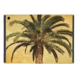 Retro vintage Palm van het Eiland van de Stijl iPad Mini Hoesje