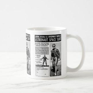Retro Vintage Sci Fi van de Kitsch bezit een Koffiemok