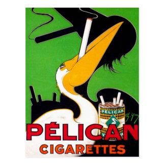 Retro Vintage Sigaretten van het Merk van de Briefkaart