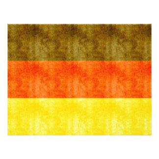 Retro Vintage Vlag van Duitsland