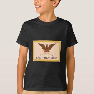 Retro Vlag van San Francisco - T Shirt