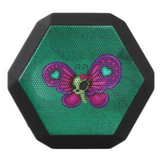 Retro Vlinder van de Zombie van de Pret Zwarte Bluetooth Speaker