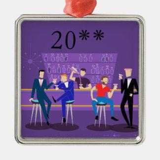 Retro Vrolijke Ornament van de Bar