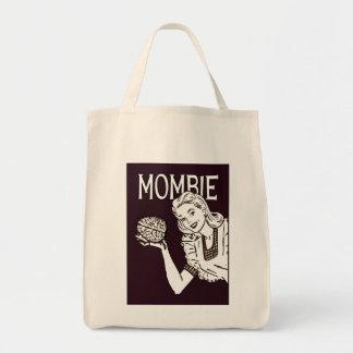 Retro Zombie van Mombie Draagtas